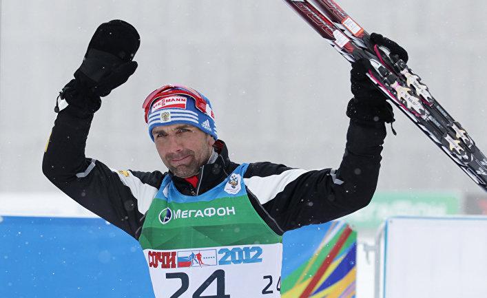 Биатлонист Андрей Прокунин