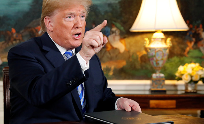 Президент США Дональд Трамп объявил о расторжении ядерной сделки с Ираном. 8 мая 2018