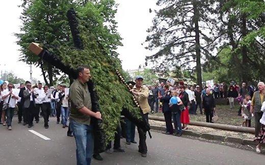 На Украине ветераны напали на полицейских