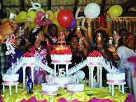 Празднование пятнадцатилетия Наоми