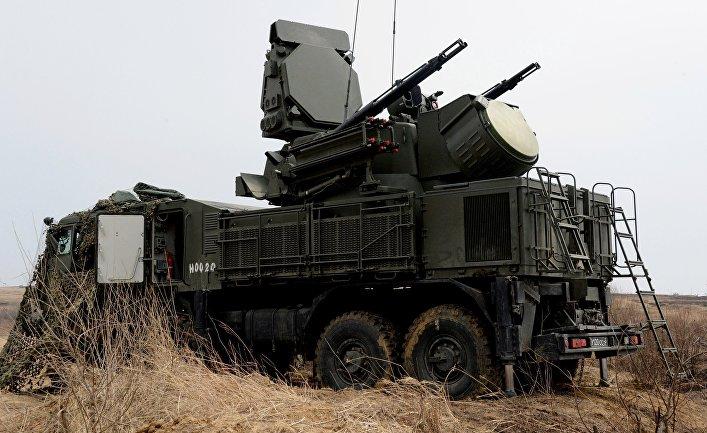 Универсальный зенитный ракетно-пушечный комплекс (ЗРПК) ближнего действия «Панцирь-С1»