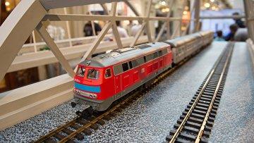 Выставка, посвященная строящемуся мосту через Керченский пролив, открылась в ГУМе
