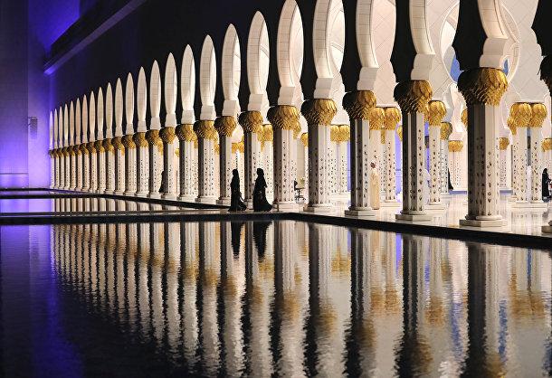 Мечеть Шейха Зайда в Абу-Даби. Священный месяц Рамадан