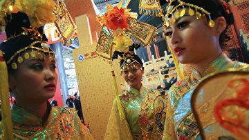На национальной выставке Китая в России