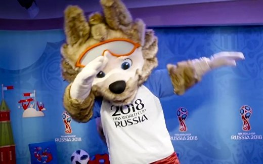 Россия живет футболом