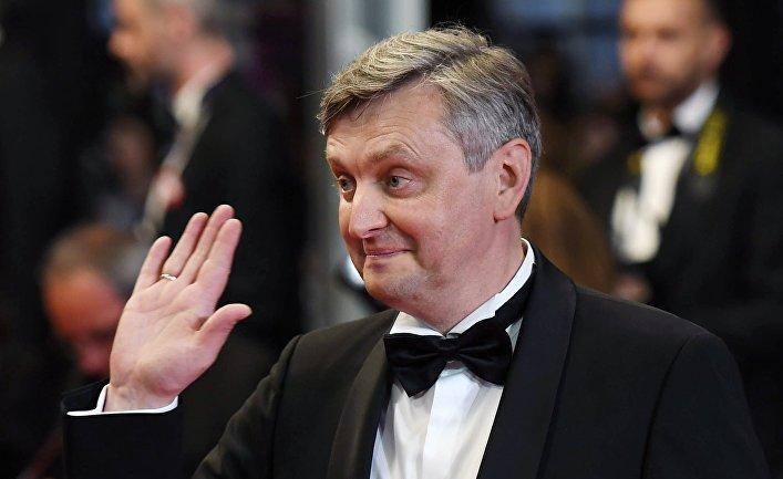 Украинский режиссер Сергей Лозница на красной дорожке 71-го Каннского международного кинофестиваля