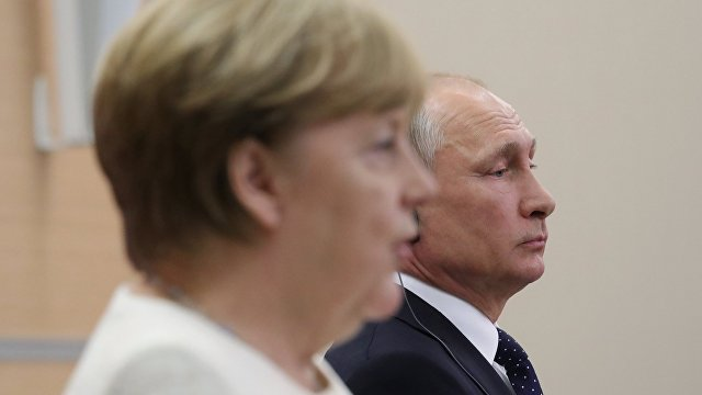 Berliner Zeitung (Германия): Ангела Меркель, Владимир Путин и вечная мерзлота