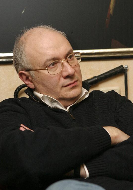 М. Ганапольский на пресс-конференции