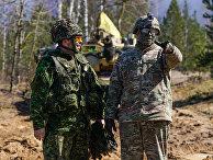 """Военнослужащие США на международных военных учениях """"Summer Shield XIV"""" в Латвии"""