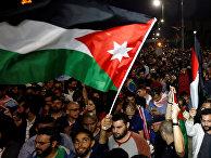 Акция протеста в Аммане, Иордания