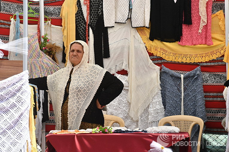 Рыночная торговля в Дамаске