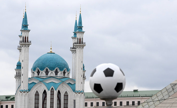 Подготовка Казани к ЧМ-2018 по футболу