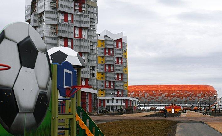 """Стадион """"Мордовия Арена"""" в Саранске"""