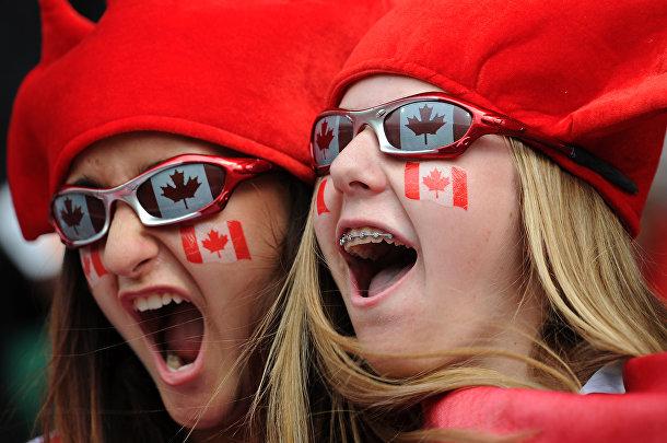 Канадские болельщики в Бохуме, Германия