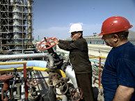 Газоперерабатывающий завод в Азербайджане