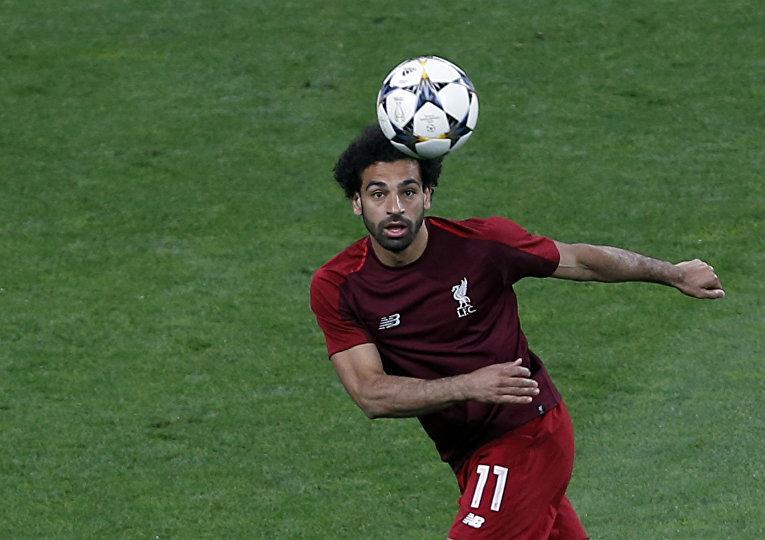 Футболист «Ливерпуля» Мохамед Салах