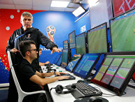Демонстрация системы VAR (Video Assistant Referee) в Москве