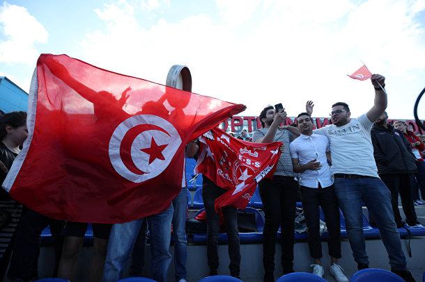 Болельщики из Туниса в Селятино