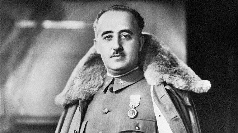 Испанский военный и государственный деятель Франсиско Франко