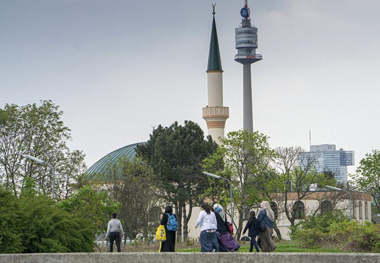 Мечеть в Вене, Австрия