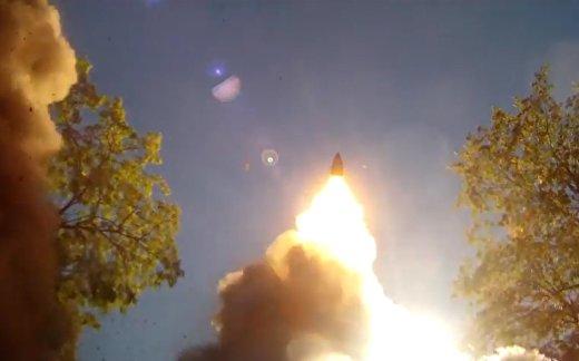Россия показала запуск «Искандера»
