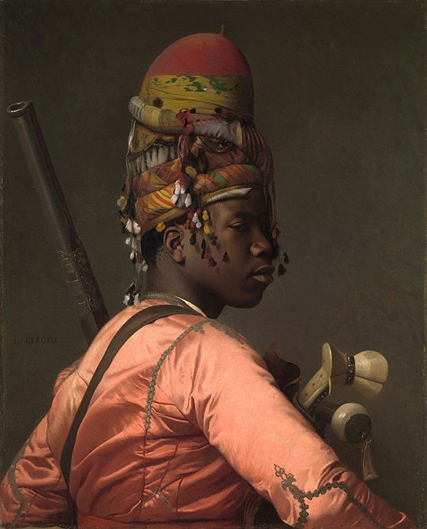 Картина французского художника Жан-Леона Жерома «Баши-Базук»