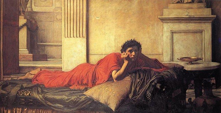 «Нерон мучается от угрызений совести после убийства матери»