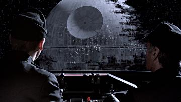 """Кадр из фильма """"Звёздные войны: Эпизод 6 – Возвращение Джедая"""""""