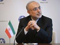 Президент Организации по атомной энергии Ирана доктор Али Акбар Салехи