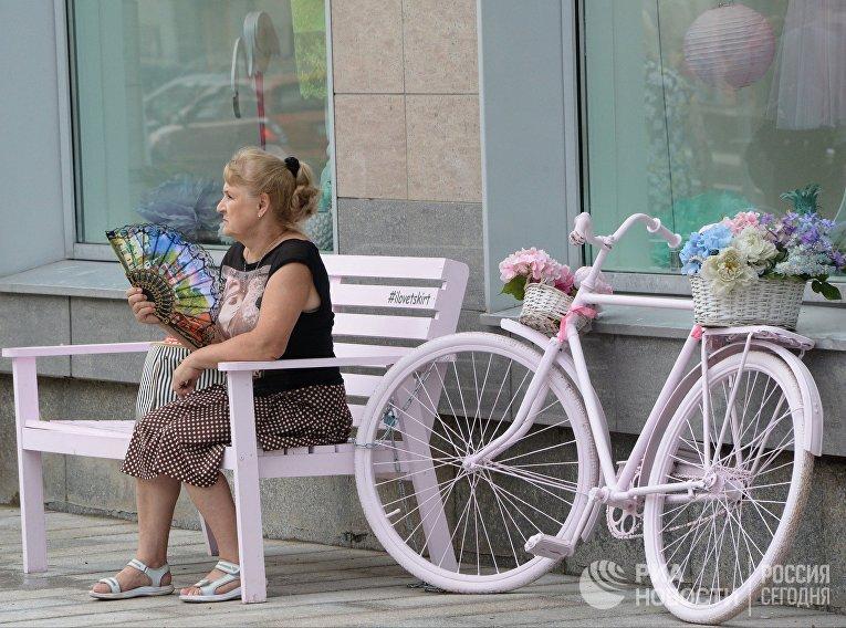 На Тверской улице в Москве