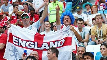 Футбол. ЧМ-2018. Матч Англия - Панама