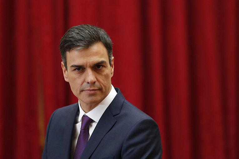 Лидер испанских социалистов Педро Санчес