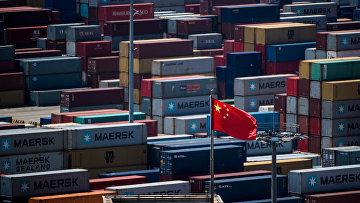 Торговый порт в Шанхае