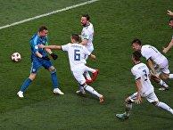 Футбол. ЧМ-2018. Матч Испания - Россия