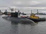 """Подводная лодка """"Владикавказ"""". Архивное фото"""