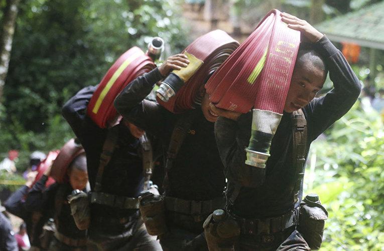 Спасательная операция в провинции Чианг Рай