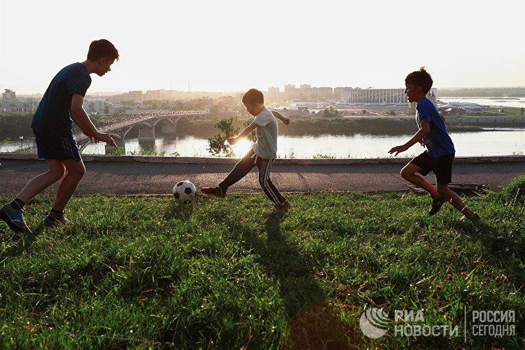 Нижний Новгород во время ЧМ-2018 по футболу
