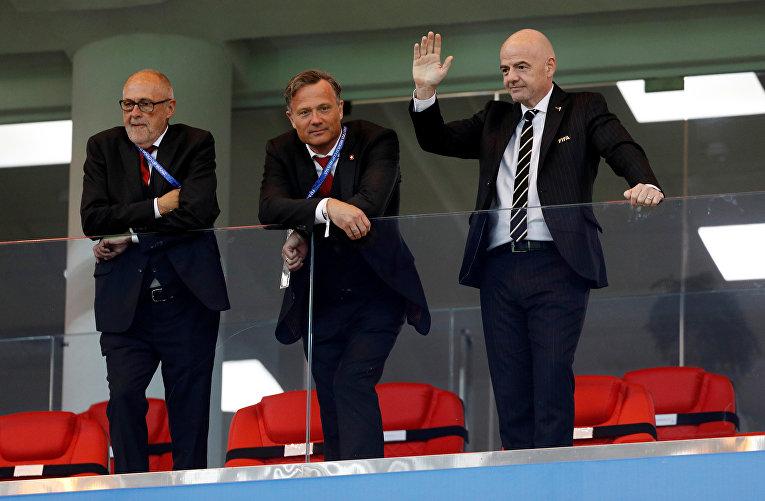 Проигравший: Швейцарский футбольный союз