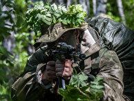 Военнослужащиq подразделения разведки