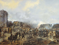 Г.Ф. Шукаев «Бой на Малаховом кургане в Севастополе в 1855 году»