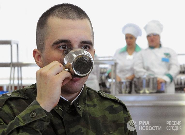 Конкурс поваров Кантемировской танковой бригады