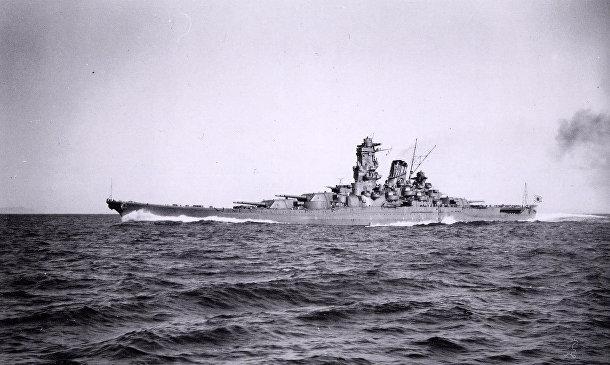 Японский боевой корабль «Ямато»
