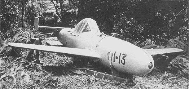Самолет камикадзе «Йокосука MXY-7Ока»