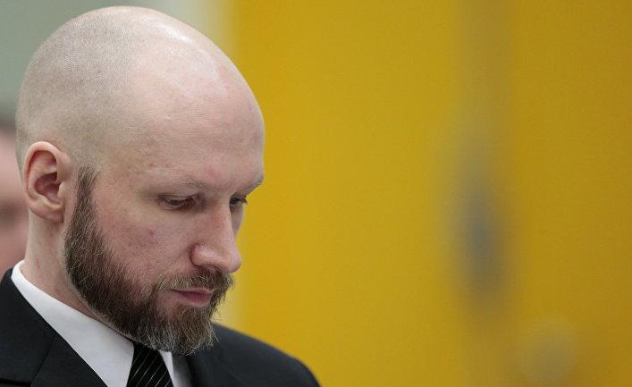 Норвежский террорист Андерс Брейвик