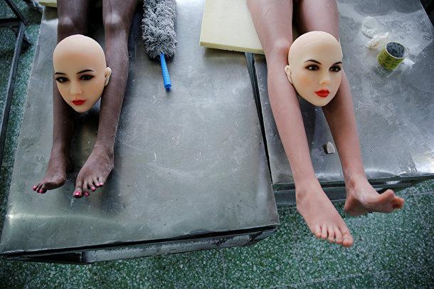 Изготовление секс-кукол на фабрике WMDOLL в Китае