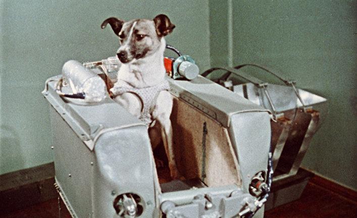 На съемках фильма «Советы в космосе»