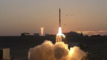 Система многоуровневой противоракетной системы Армии обороны Израиля «Праща Давида»