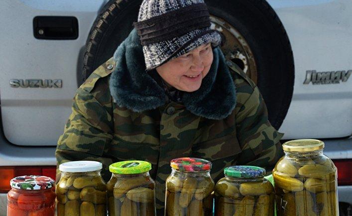 Продовольственная ярмарка во Владивостоке