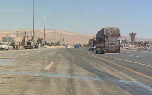 Сирийская трасса М5 «Дамаск-Хомс-Алеппо» освобождена
