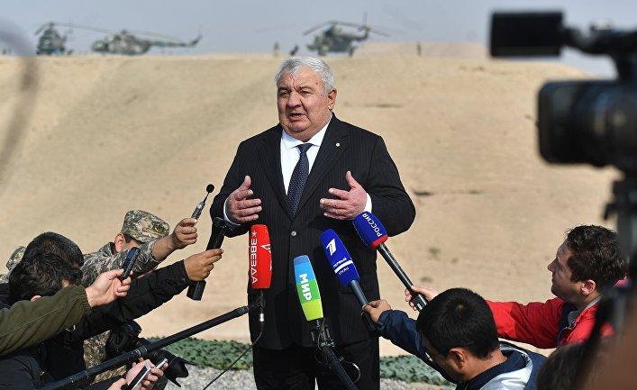 Учения ОДКБ в Таджикистане